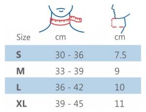 ACTIMOVE - Bang do size Cervical